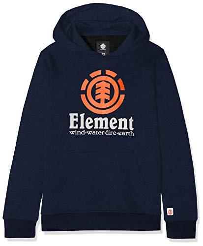 2bf502285ca02 Element Vertical Hood Boy Sweatshirt à Capuche Garçon, Eclipse Navy, FR :  XL (
