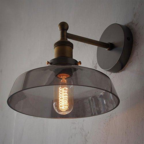 WYQLZ Rétro personnalité chambre chevet lampe de mur bar salon décoration créative veilleuse