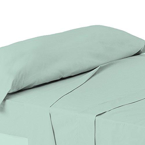 ForenTex - Juego de sábanas de 3 piezas, (X-4002), Azul Turquesa, cama...
