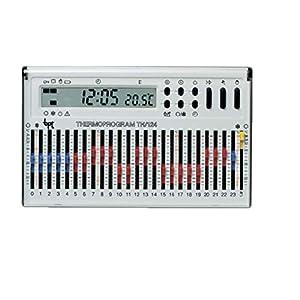 Cronotermostato elettronico giornaliero da parete bianco TH/124.01 BB 41uJVlKBG7L. SS300