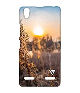 Vogueshell Crop View Printed Symmetry PRO Series Hard Back Case for Lenovo A6000