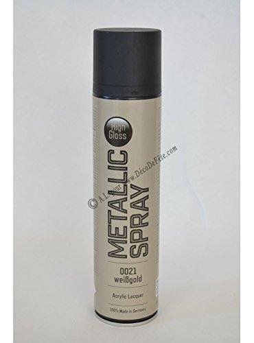 Sprühlack, Lackspray, Design Lack, Colorspray Weissgold 400 ml