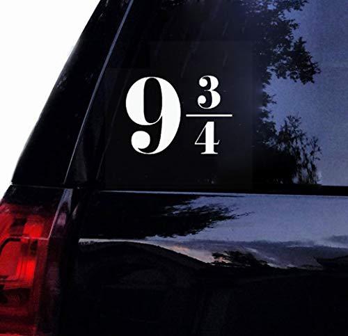 aufkleber eule auto Classic Movie Hohe Plattform 9 3/4 Auto Aufkleber Für Autokörper Für Laptop Für Autofenster Körper Aufkleber -