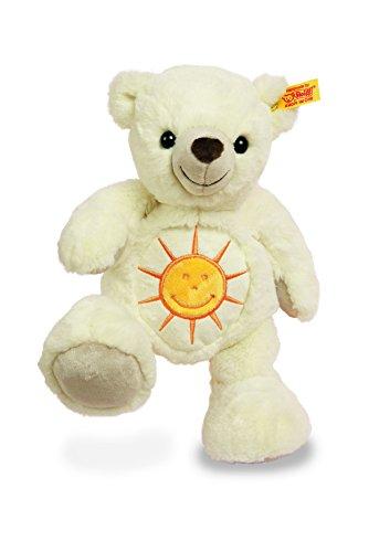 Steiff 113581 - Wünschebär Sonne, Plüschtier, 28 cm, creme
