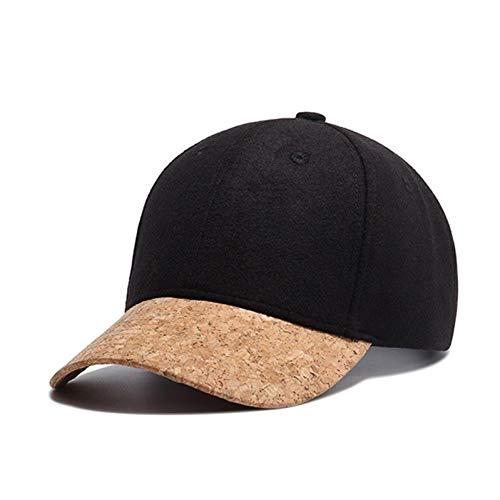 FHSOHG Herbst Kork Mode Einfache Männer Frauen Hut Hüte Baseball Cap Hip Hop Klassischen Caps Winter