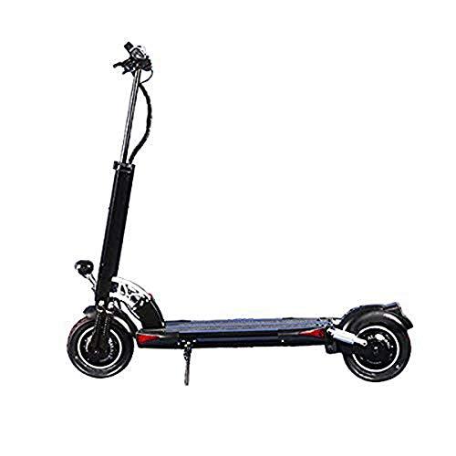 L&WB D5 + Pieghevole Leggero 2000W Scooter Elettrico con la velocità Massima di 40 mph Eviaggiando Fino a 50 miglia Gamma-Nero