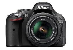 Nikon D5200 24.1MP Digital SLR Camera (Black) with AF-S 18-140mm VR Lens, Card, Camera Bag