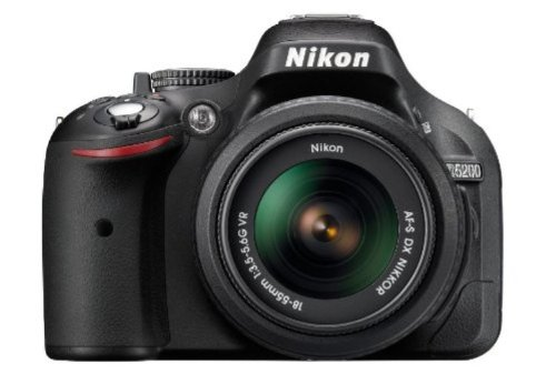Nikon D5200 24.1MP Digital SLR Camera (Black) with AF-S 18-140mm VR Lens, Card, Camera Bag