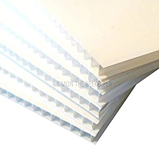 4 X Beekeeping 4mm CORREX SHEET for most beehives 4 X Beekeeping 4mm CORREX SHEET for most beehives 41uJYVgh4QL