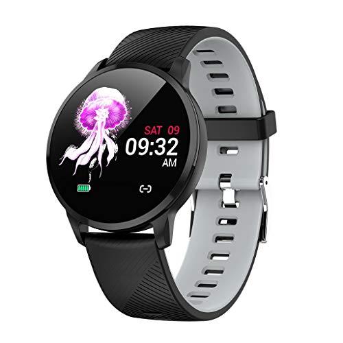 LRWEY S16 Smart Watch Fitness Tracker Herzfrequenz-Blutdruckmessgerät Pedometer, Für Android iOS