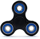 Fidget Spinner Black and Blue