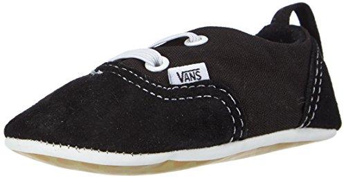 Vans Era Crib, Chaussures Premiers pas mixte bébé Noir (Black/True White)