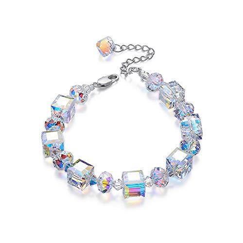 c10a04e94 ZSML 925 Sterling Silver Armbänder, Using Swarovski Elements Crystal  Romance Women Bangles, Elegant Jewellery