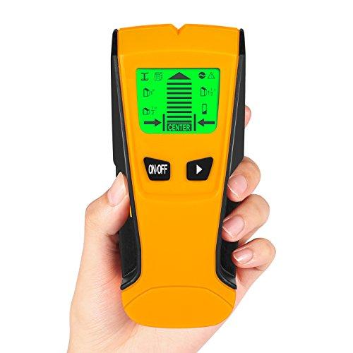 Ortungsgerät, Multi-Funktions Detektor, Electronic Stud Sensor/Leitungssucher mit LCD Bildschirm, Stud Finder für Metall,Rohre,Holz,Stromleitung,Balkenfinder