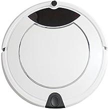 AKEKEY Robot de Limpieza Aspirador con Carga Automática y Trapeador húmedo con Control Remoto -Blanco (blanco)