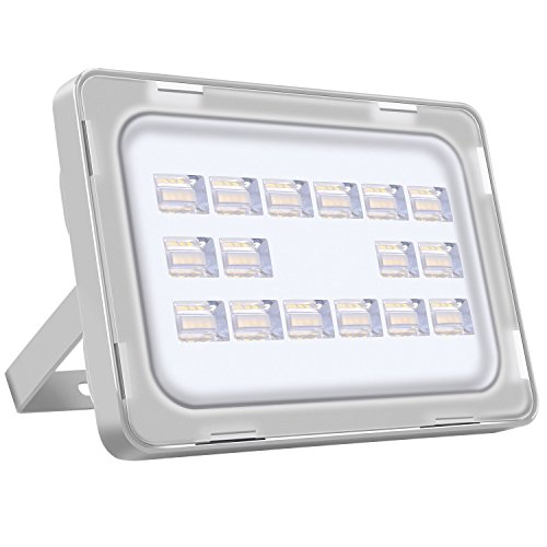 [Reflector Llevado Blanco/Blanco Cálido] Vitreum 10w 20w 30w 50w 150w 200w 250w Foco LED Proyector Reflector de Pared Proyectores Puntos Floodlight 6F