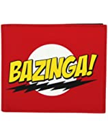 Mustard Big Bang Theory Bazinga Wallet