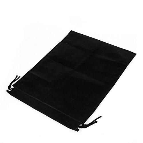 Kordelzug Cinch Tasche (Kordelzug Cinch-Sack, Tasche,, 50 cm x 40 cm, Schwarz DE de)
