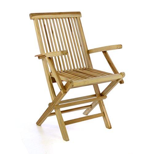 natur-teakholz Gartenstühle online kaufen | Möbel-Suchmaschine ...