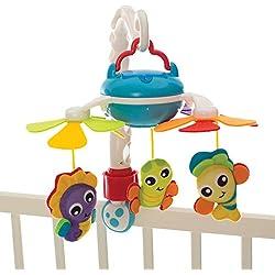 Playgro Mobile Nomade, Sur la Route et à la Maison, Avec 3 Mélodies Différentes, Dès la naissance, Multicolore, 40189