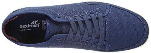 Boxfresh Sparko Sh Rip Nyl, Sneakers basses homme Bleu - Blau (Indigo/Maroon)