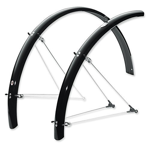 SKS B45 Bolt-On Recumbent/Folding Bike 20 Inch wheel Fenders by SKS-Germany