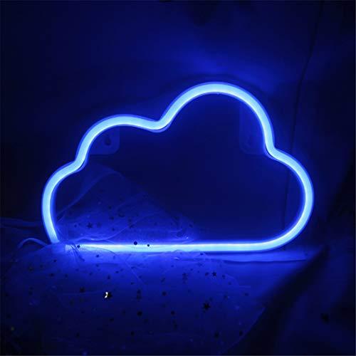 LED Neon Light Sign Moon Star Heart Night Light para el dormitorio de los niños Arte de la pared Regalo de cumpleaños romántico de Navidad