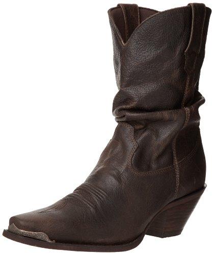 Durango  RD3494,  Damen Westernboots , Braun - Distressed Sunset Brown - Größe: 39 (6.5 UK) (Braun Distressed Stiefel Cowboy)