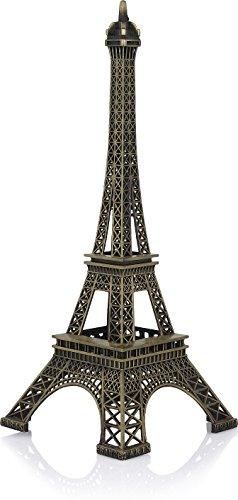 ANB Elle Fab Metal Eiffel Tower Collectible Showpiece-18 cm