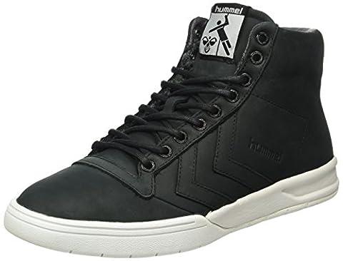 hummel Unisex-Erwachsene Hml Stadil Winter High Sneaker Top, Schwarz (Black), 44 EU