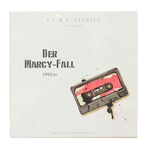 (Space Cowboys Asmodee 003102 - T.I.M.E Stories - Der Marcy-Fall)