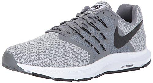 Nike Guard Lock Elite Sleeves Schienbeinschoner Unisex Erwachsene, Grau - Grau/Schwarz/Grau (Cool Grey/Black-Wolf Grey-Black) - Größe: 14 D(M) US
