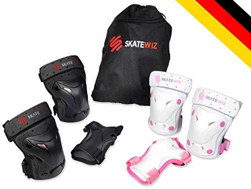 SKATEWIZ Protect-1 Schutzausrüstung Größe XS in SCHWARZ