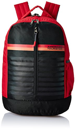 American Tourister 28 Ltrs Red Casual Backpack (AMT PING Backpack 01 – RED)