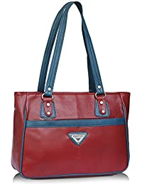 Fantosy Maroon And Blue Women Shoulder Bag (maroon And Blue) (FNb-773)