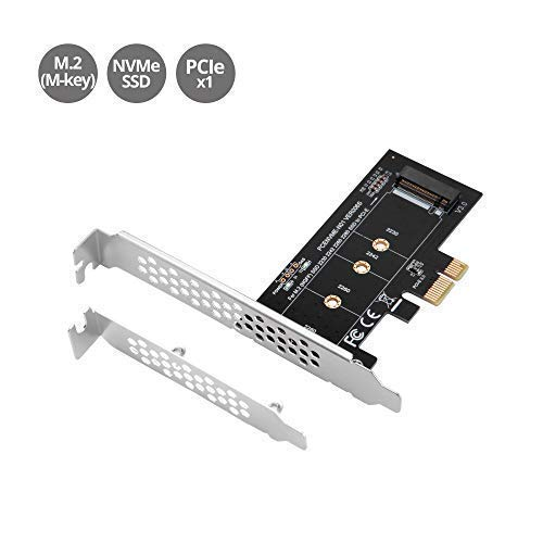 MZHOU M.2 SSD M-Key NVM PCIe 3.0 x1 Adaptador Tarjeta
