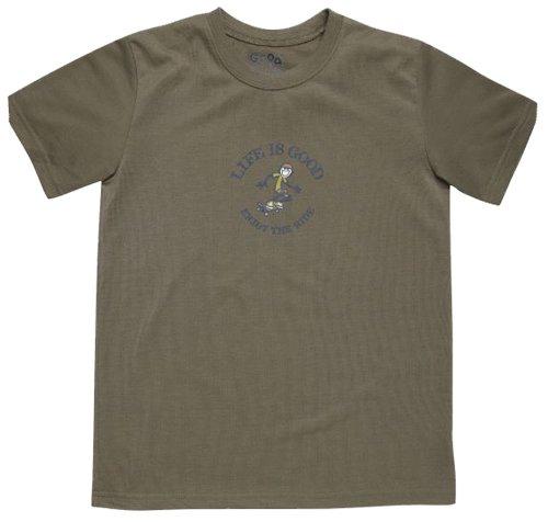 life-is-good-t-shirt-ragazzo-bark-brown-s