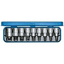 """Gedore INX 19 PM - Juego de vasos destornilladores 1/2"""" 9 pzas IS-PH-XZN"""