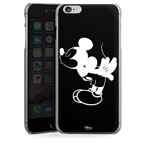 Apple iPhone 7 Hülle Premium Case Cover Disney Mickey Mouse Geschenke Fanartikel Hard Case anthrazit-klar