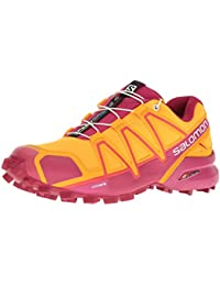 Salomon Damen Speedcross 4 W Traillaufschuhe, Rot
