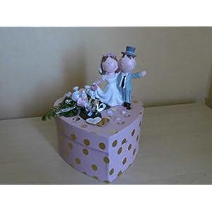 Geldgeschenk Geschenkbox Geschenkverpackung Hochzeit Herz