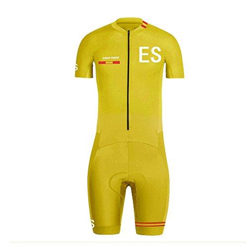 Uglyfrog 2018 Men Summer Short Sleeve Breathable Cycling Skinsuit Stes with  Gel Pad Outdoor Sportswear Triathlon 08458a8eb