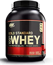 Optimum Nutrition Whey Gold Standard Rich Delicious Strawberry Flavor Powder, 5 Lbs
