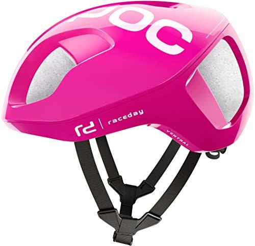 POC Ventral Spin Helmet Fluorescent pink Kopfumfang L | 56-61cm 2019 Fahrradhelm