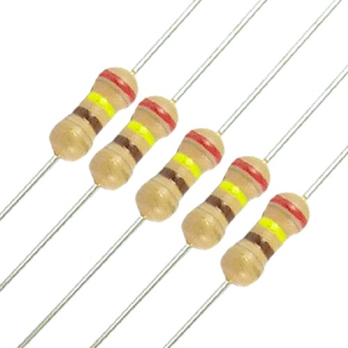 50 x resistori 240 ohm OHMS 1/4W 250V 5% carbonio