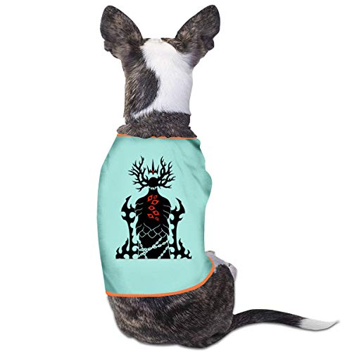 King Baby Boy Kostüm - Jiaojiaozhe Scarlet King SCP Foundation Pet Service Pet Clothing Funny Dog Cat Costume Tshirt Sky Blue