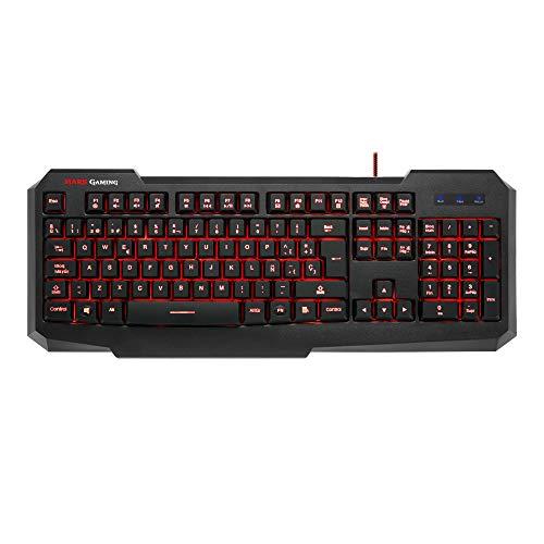 Mars Gaming MK116 - Teclado gaming PC personalización