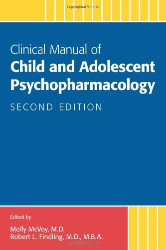 Clinical Manual of Child and Adolescent Psychopharmacology by Molly McVoy (16-Oct-2012) Paperback