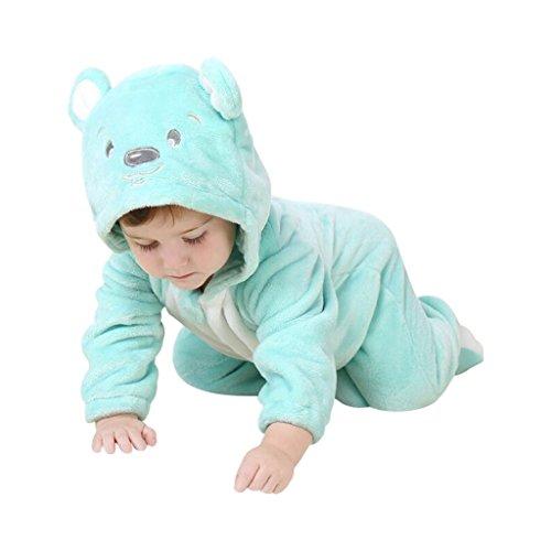 Teddy-Kostüm niedliche Verkleidung mit witzigen Details, Kapuze mit Bären-Öhrchen, Teddy-Gesicht, praktischer - Teddy Baby Kostüm