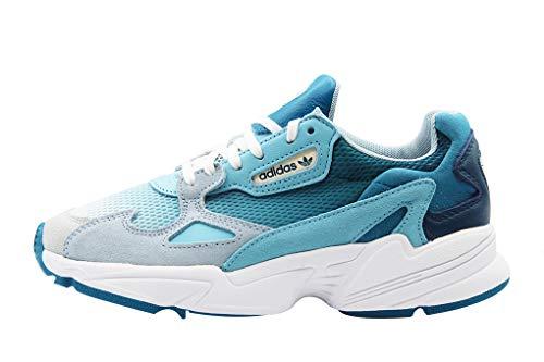adidas Falcon Damen Sneaker Blau